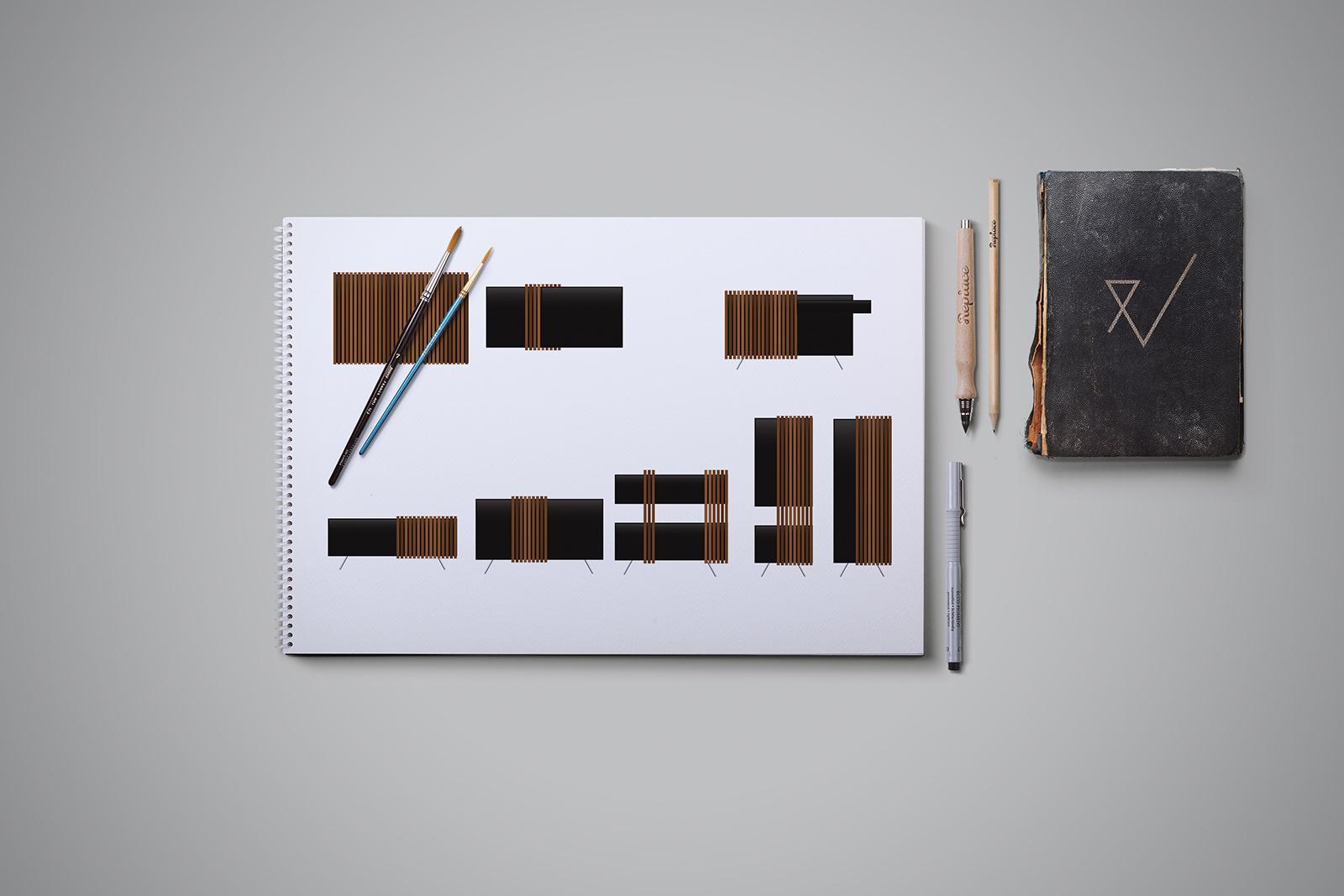 drab-furniture-set-sketch-pawlowska-design